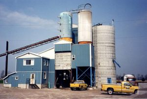A third redi-mix plant is established in Mitchell, Ontario.